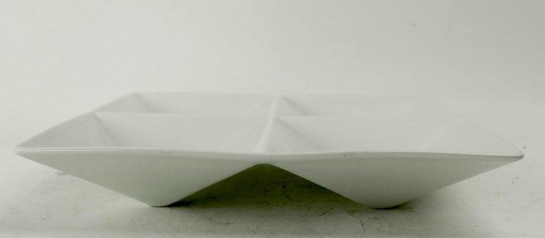 Scandinavian Modern Kaj Franck Origami Tray for Arabia For Sale