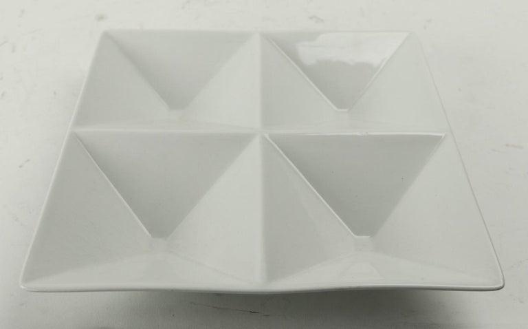 Ceramic Kaj Franck Origami Tray for Arabia For Sale