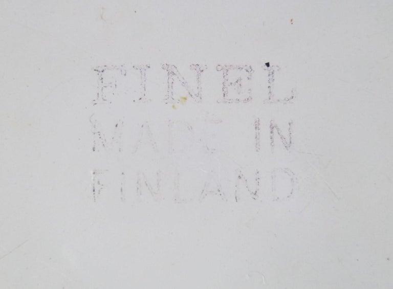Kaj Frank for Arabia, Finel 4-Enamel Bowl Set Finland, 1960s For Sale 1