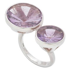 Amethyst Kaleidoscope Fashion Ring in Sterling Silver