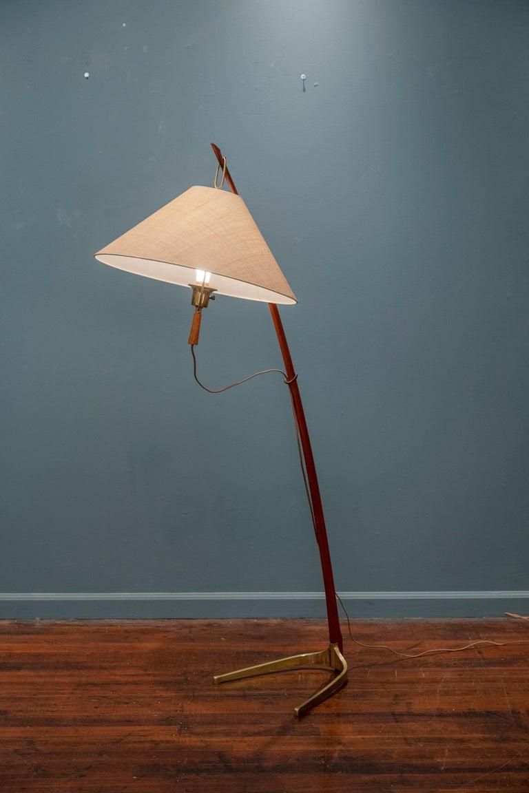 Kalmar Dornstab Floor Lamp, Austria For Sale 3