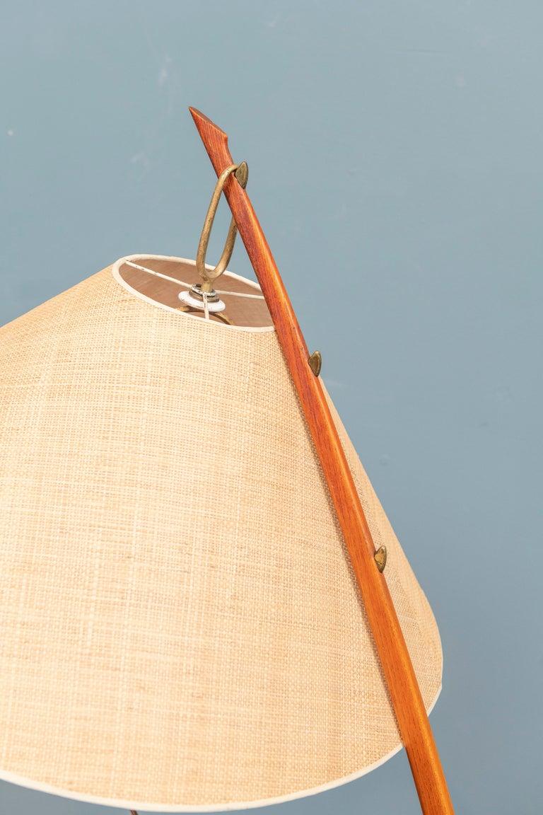 Kalmar Dornstab Floor Lamp, Austria In Good Condition For Sale In San Francisco, CA