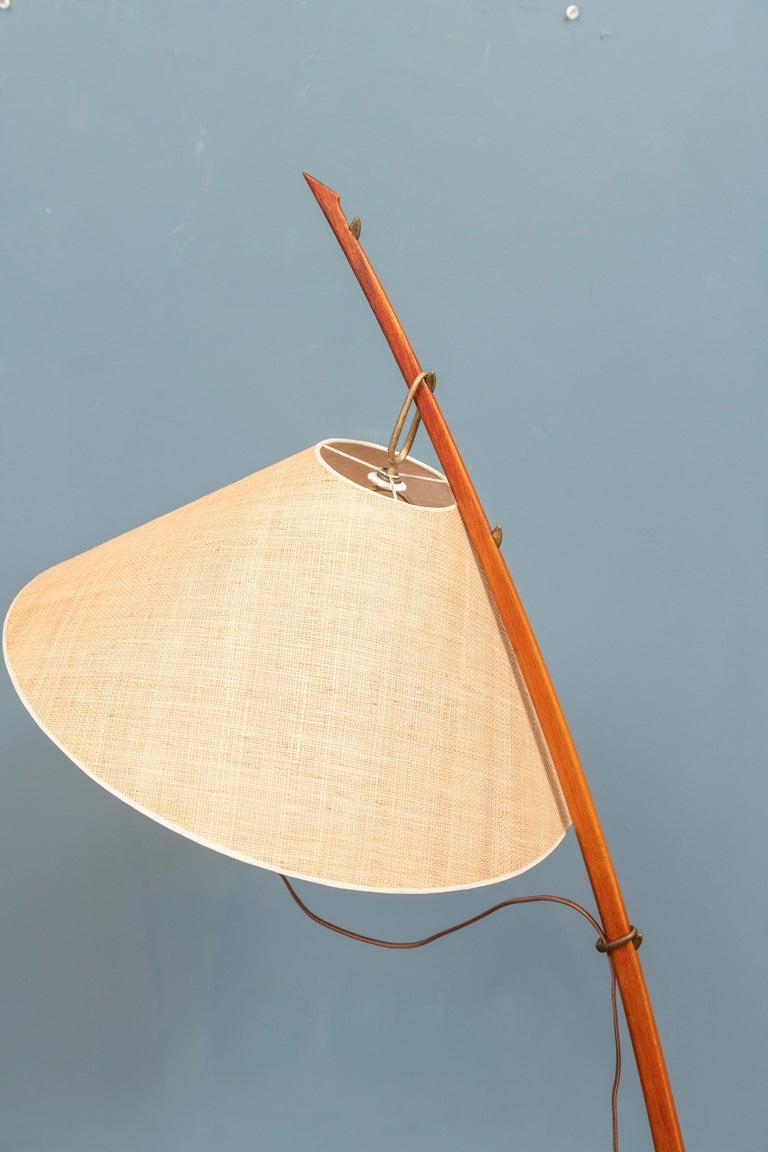 Brass Kalmar Dornstab Floor Lamp, Austria For Sale