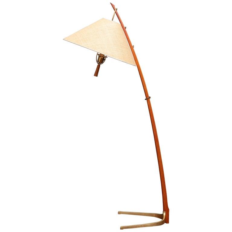 Kalmar Dornstab Floor Lamp, Austria For Sale