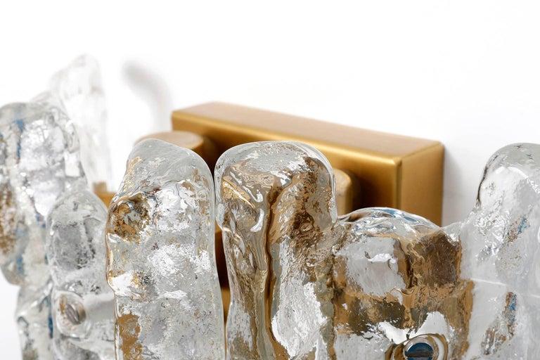 Kalmar Glass Sconces, 1970s For Sale 1