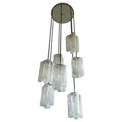 Kalmar Granada Cascade Glass Chandelier by Kalmar Austria, Vienna, 1960