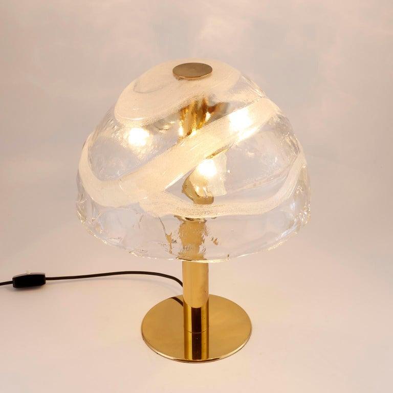 Brass Kalmar Table Lamp For Sale