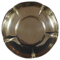 Kalo Sterling Silver Centerpiece Bowl Hand Wrought #5811B