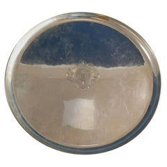 Kalo Sterling Silver Serving Tray Round #G12P