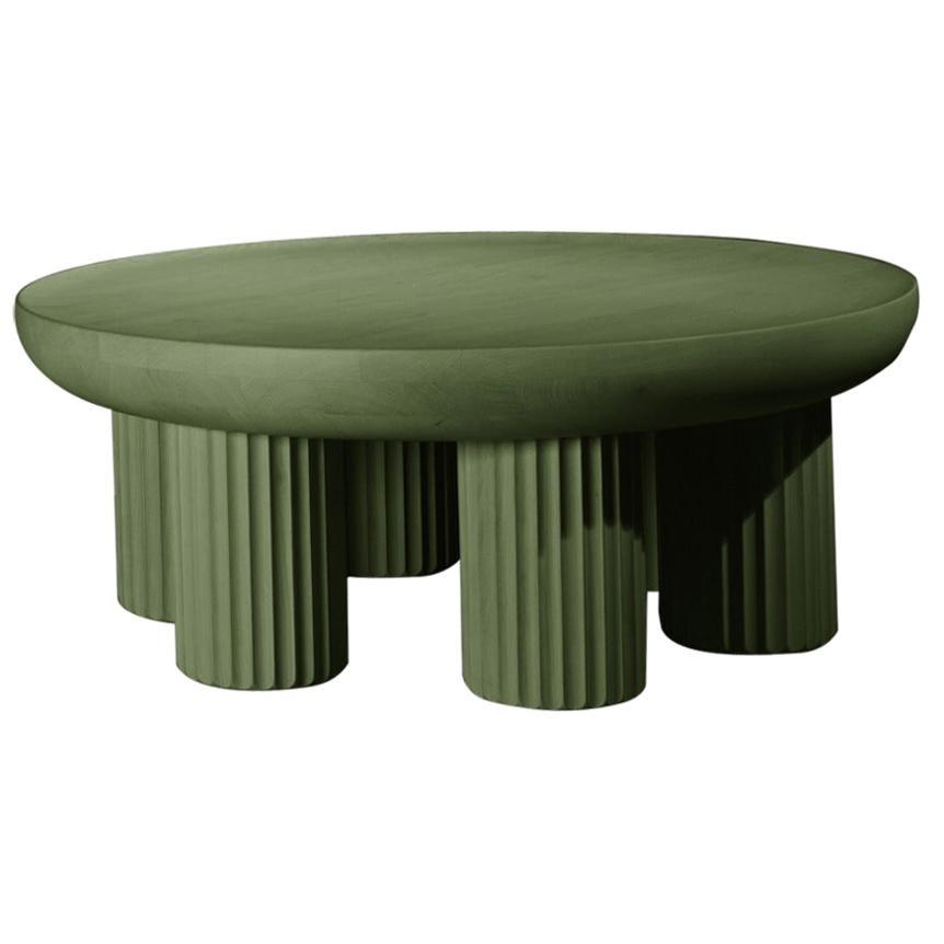 Kalokagathos Contemporary Coffee Table in Wood by Jiri Krejcirik