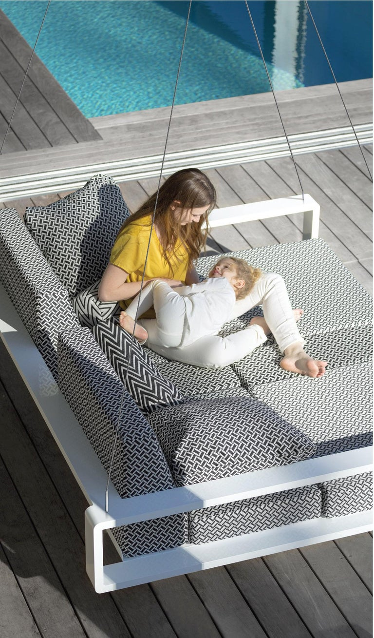Modern Kama Swing Bed by Ego Paris For Sale