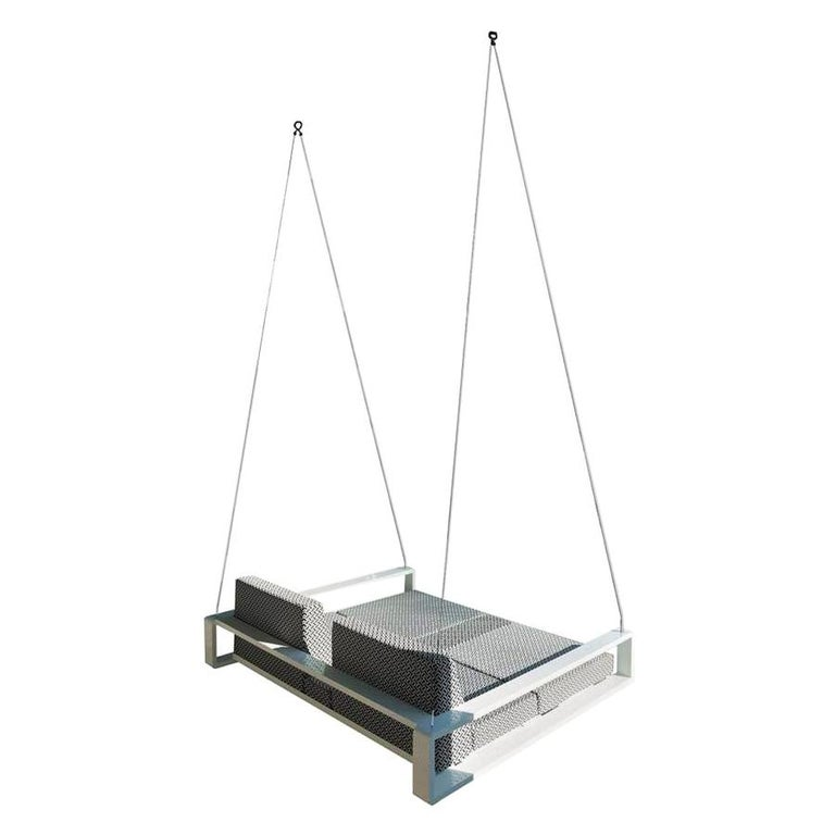 Kama Swing Bed by Ego Paris For Sale