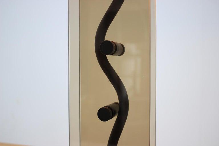 Mid-Century Modern Kamenický Šenov Design Table Lamp, 1980s For Sale