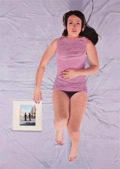 Wish you were here- XXI C, Young art, Figurative painting, Photorealism