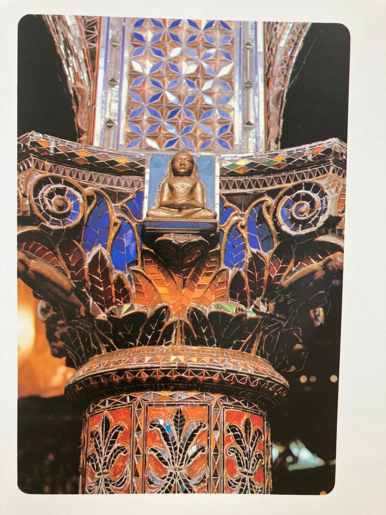 India Kanch Mandir, Le Temple des Miroirs, the Glass Temple French Book For Sale 3