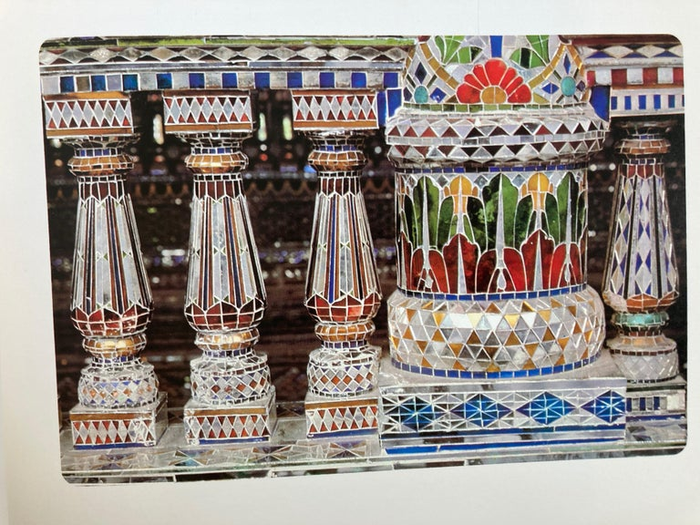 India Kanch Mandir, Le Temple des Miroirs, the Glass Temple French Book For Sale 4