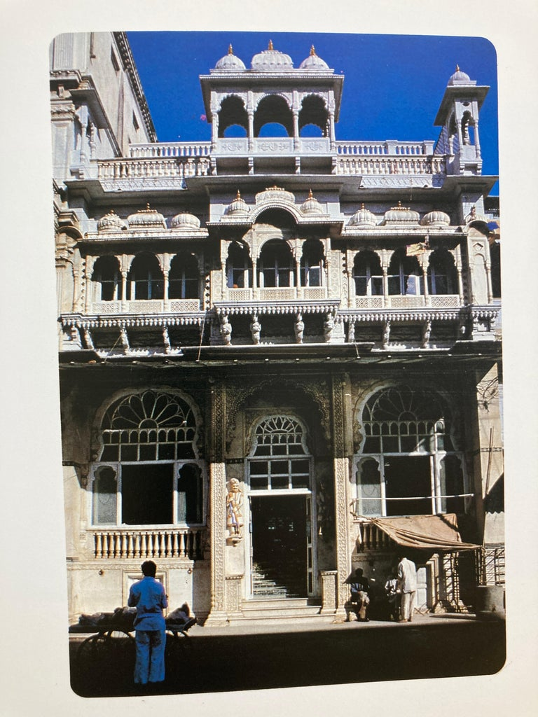 India Kanch Mandir, Le Temple des Miroirs, the Glass Temple French Book For Sale 1