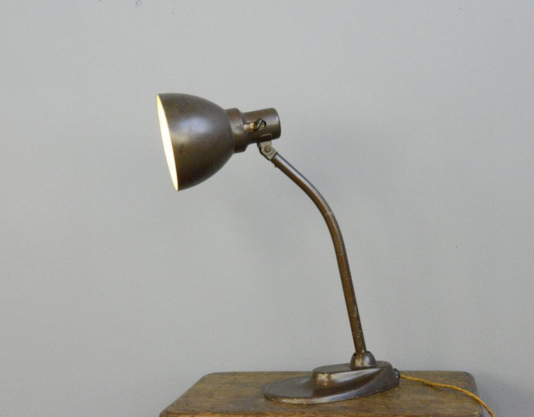 Early 20th Century Kandem Model 701 Table Lamp, circa 1920s For Sale