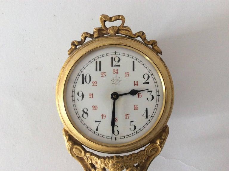 Kangaroo Mystery Clock At 1stdibs