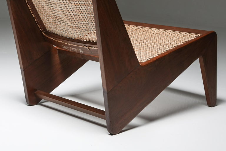 Kangourou Chairs by Jeanneret, Chandigarh, 1955 For Sale 4