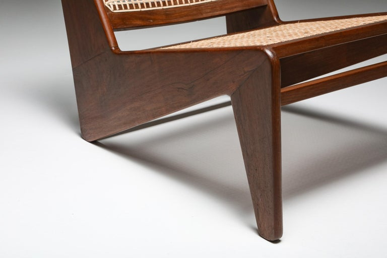 Kangourou Chairs by Jeanneret, Chandigarh, 1955 For Sale 5