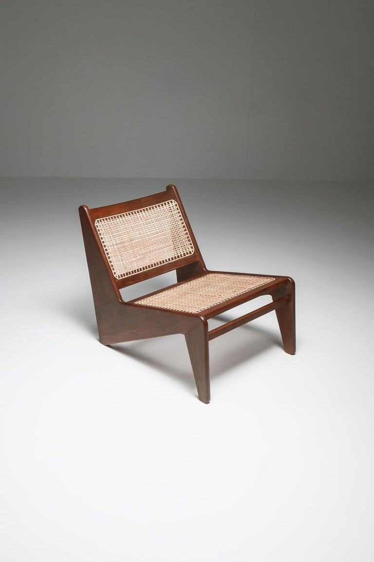 Kangourou Chairs by Jeanneret, Chandigarh, 1955 For Sale 11