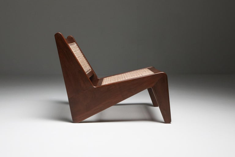 Mid-20th Century Kangourou Chairs by Jeanneret, Chandigarh, 1955 For Sale