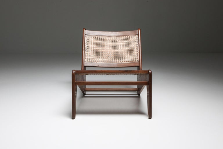 Kangourou Chairs by Jeanneret, Chandigarh, 1955 For Sale 1