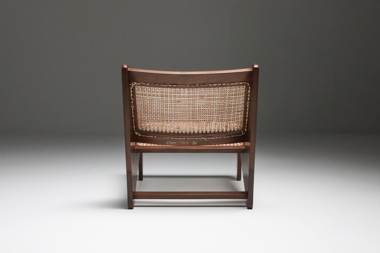 Kangourou Chairs by Jeanneret, Chandigarh, 1955 For Sale 2