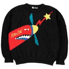 Kansai Yamamoto Fighter Jet Sweater