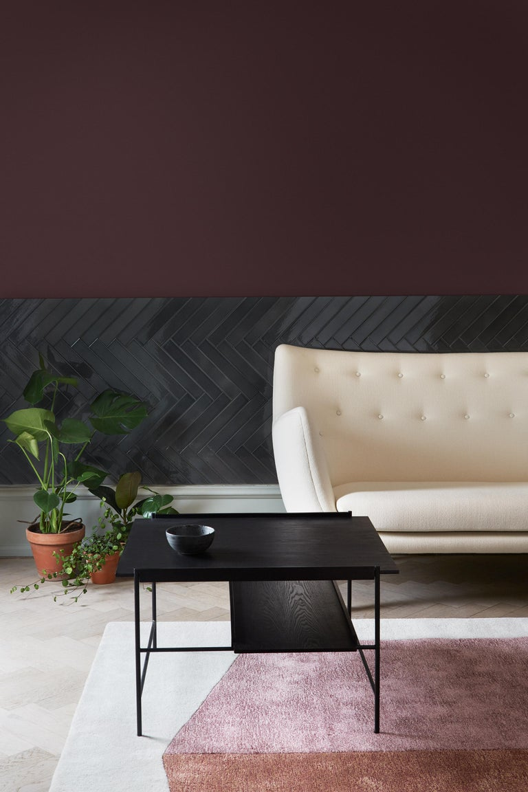 Kanso Coffee Table in Wood and Steel For Sale 1