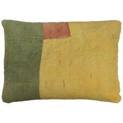Kantha Quilt Pillow