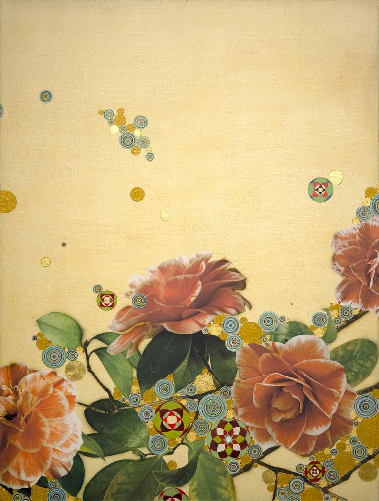 Kaoru Mansour Still-Life Painting - Iro (hana) #495