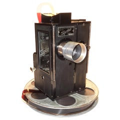 Kaplan 35mm Cinema Movie Projector Head, circa 1930 Fully Restored and Gorgeous
