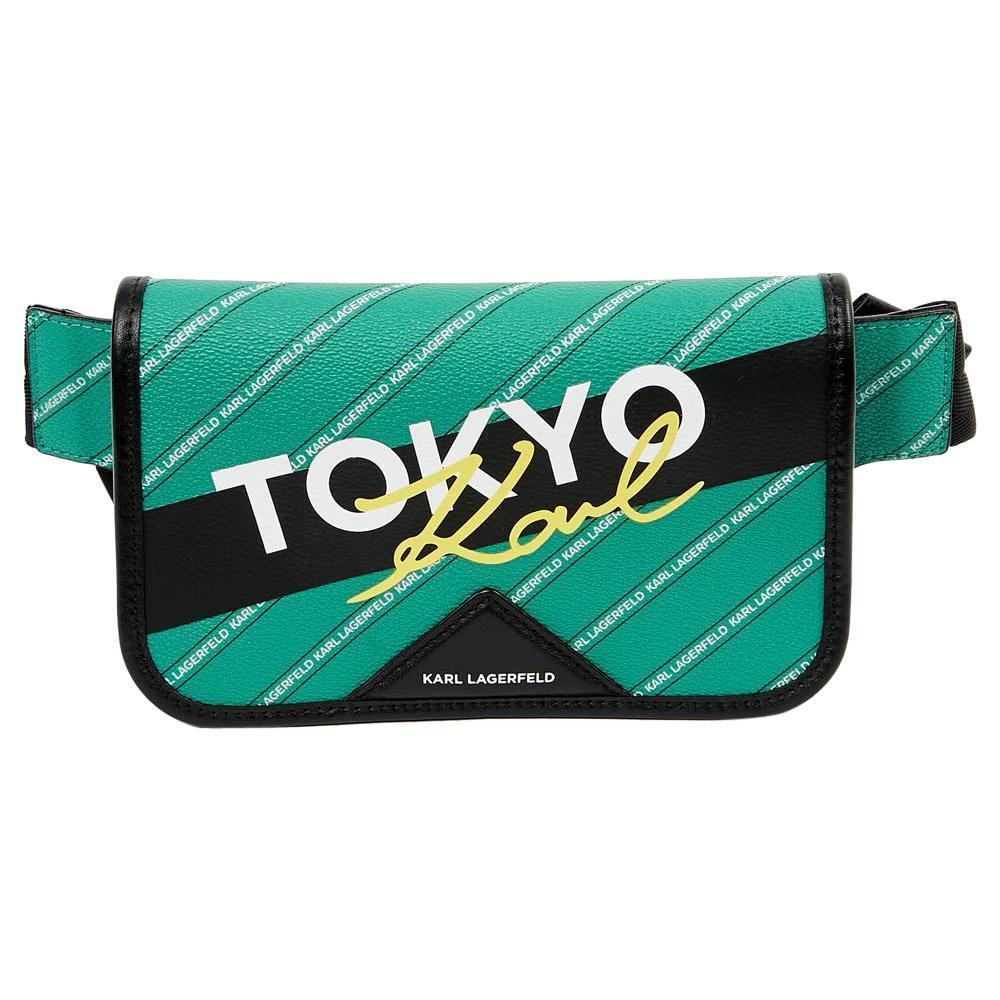 Kar Lagerfeld Tokyo Green Belt Bag