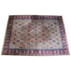 Karastan 900-901 Samovar Teawash Wool Carpet Area Rug Vase Design