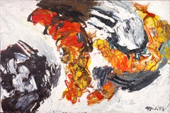 Comme les Planètes, Karel Appel, 1959 (Abstract Expressionist Modern Painting)