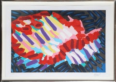 Animal, Framed Lithograph by Karel Appel