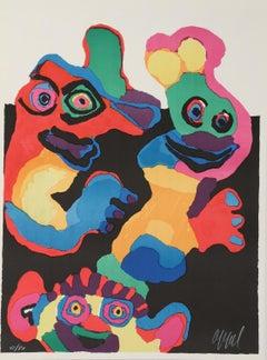 Gente Riendo, Hand-signed limited edition lithograph