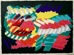 Abstract Expressionist Figurative Prints