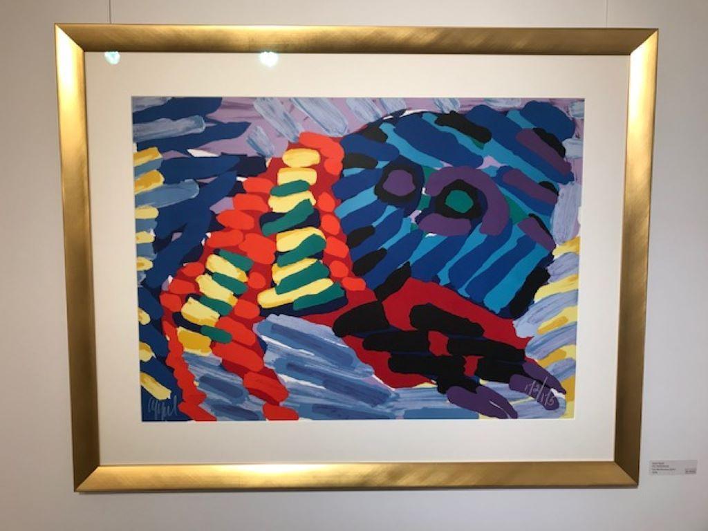 See me running again - Lithograph -1978 - Handgesign - 172/175 - Modern abstract