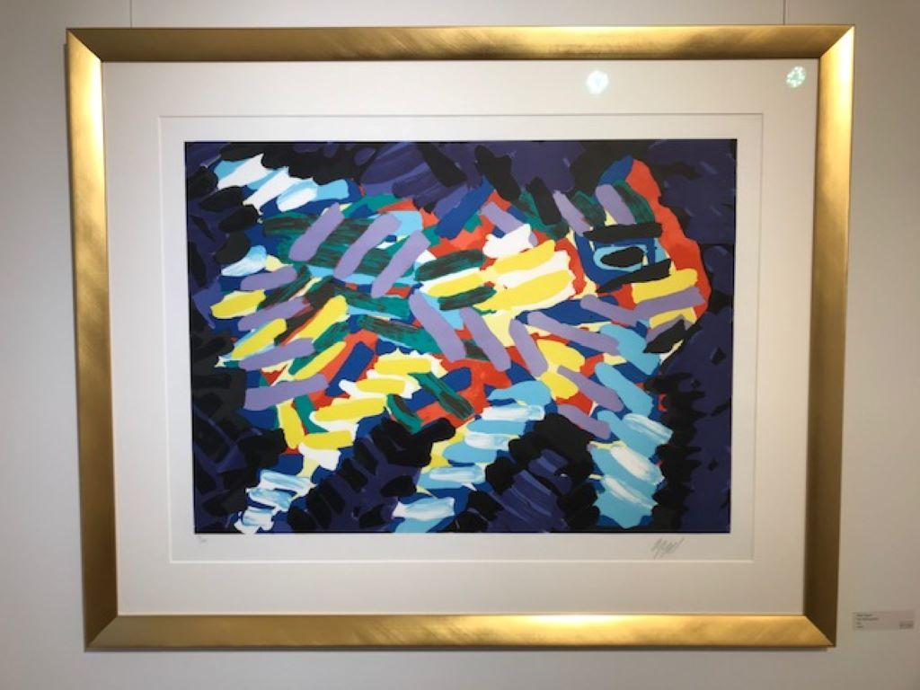 Ten by Appel Series - Lithograph -1978 - Handsigned - 13/175 - Modern abstract
