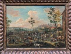 The Livestock Market, 17th Century