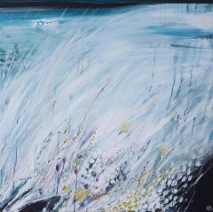 Karen Birchwood, Changing Light 1 Original Painting, Abstract Landscape Painting