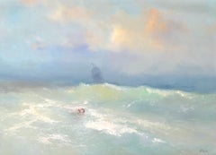 After Storm, Original oil Painting, Framed