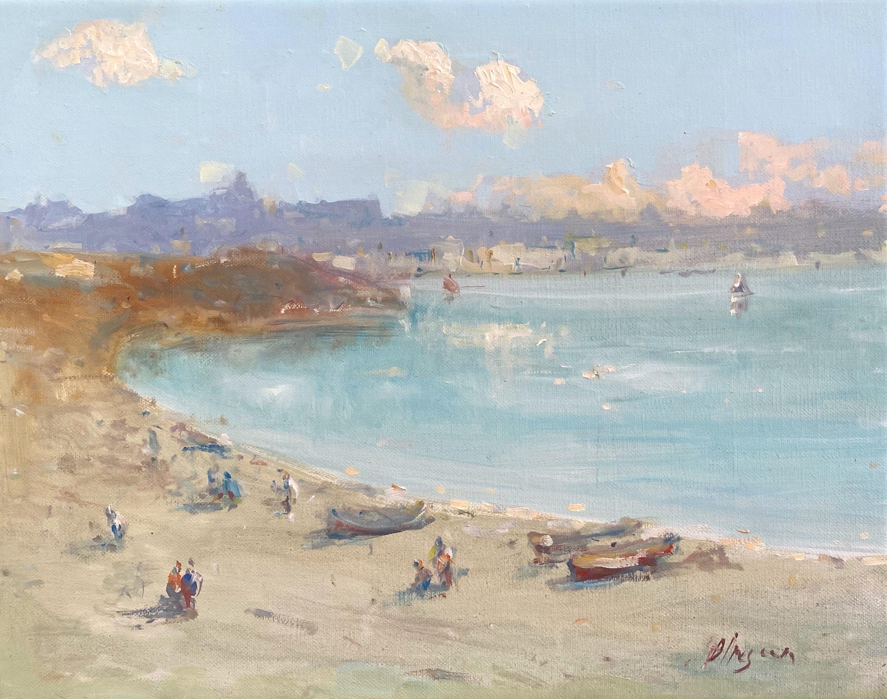 Coastal, Original oil Painting, Framed