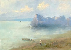 Island, Original oil Painting,