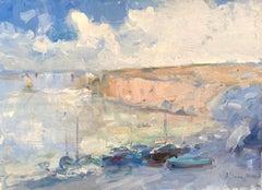 Seashore, Original oil Painting,