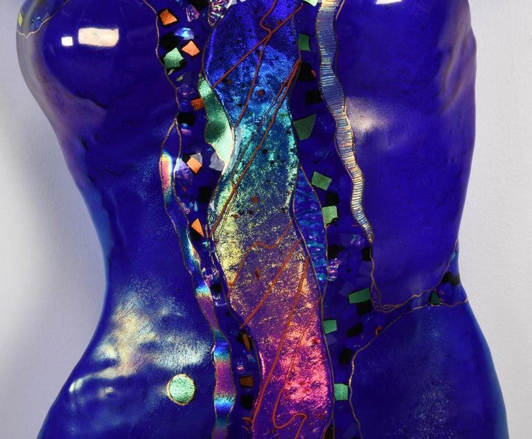 Karen Ehart Art Glass Wall Sculpture, 21st Century For Sale 2