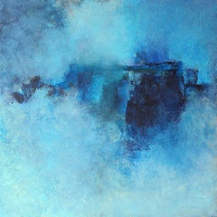 Blue Timbre, Abstract Painting